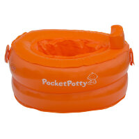 Дорожный горшок Pocket Potty надувной
